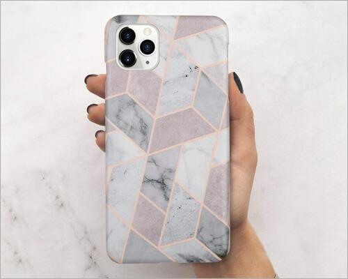 LUMARKE iPhone 11 Pro Marble Case for Girls