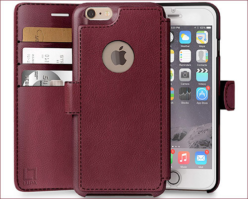 LUPA iPhone 6 Plus Wallet Case