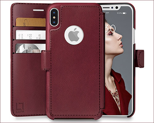 LUPA iPhone X Wallet Case