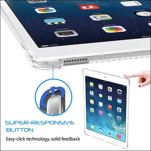 LUVVITT CLEAR GRIP iPad Pro Case