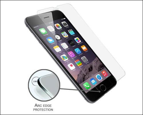 LUVVITT Screen Protector for iPhone 7