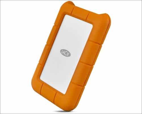 LaCie Rugged 1TB External Hard Drive for MacBook Air