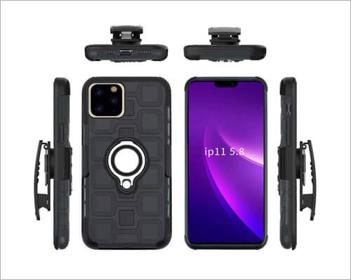 Lantier Holster Case for iPhone 11 Pro