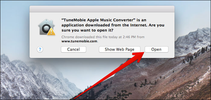Launch TuneMobie Apple Music Converter on Mac