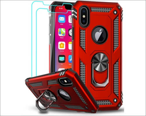 LeYi Kickstand Case for iPhone X
