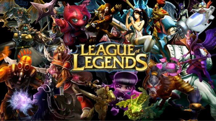 League of Legends MMORPG for Mac