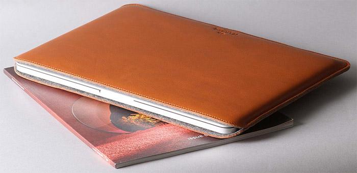 Leather MacBook Pro Sleeve