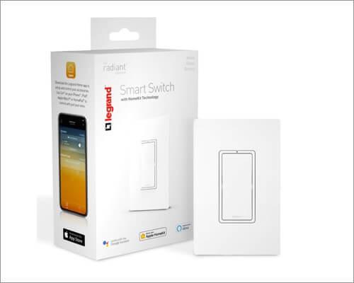 Legrand Smart Light Switch Accessory for HomePod and HomePod Mini