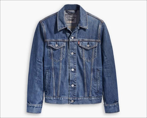 Levi's Trucker Jacket with Jacquard by Google