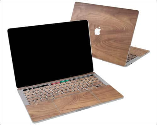 Lex Altern Solid Wood Texture Skin for 16 inch MacBook Pro