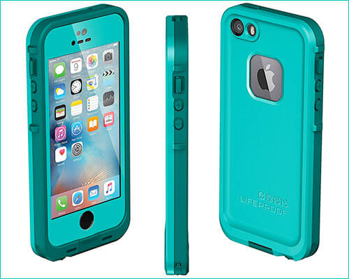LifeProof Fre Waterproof Case for iPhone SE, 5s, and iPhone 5