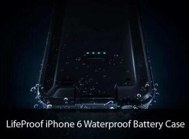 LifeProof iPhone 6 Waterproof Battery Case