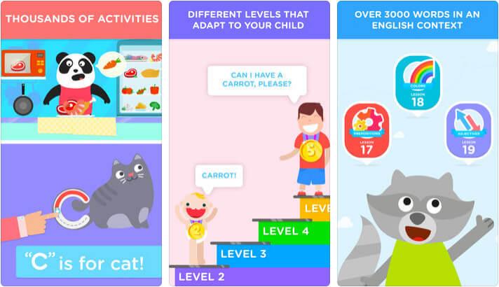 Lingokids English For Kids iPhone and iPad App Screenshot