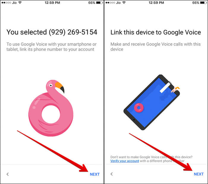 Link your iPhone to Google Account