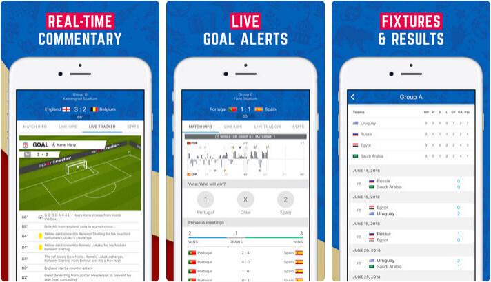 LiveScore World Football iPhone App Screenshot