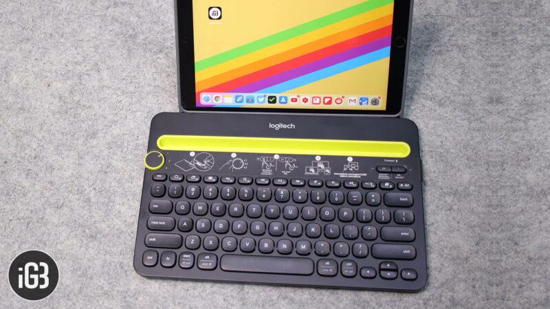 Logitech K480 Bluetooth Keyboard for iPhone, iPad, Mac, and Windows PC