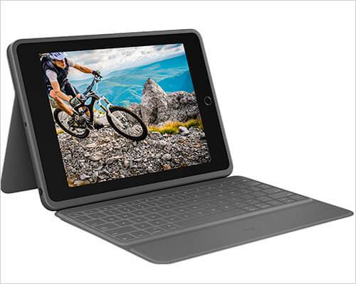 Logitech Rugged Folio iPad 10.2-inch Keyboard Case