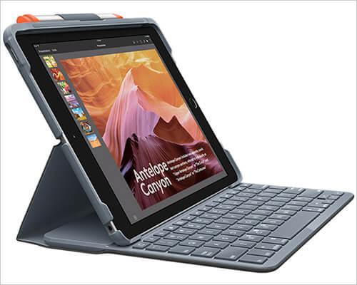 Logitech Slim Folio Keyboard Case for iPad 10.2-inch