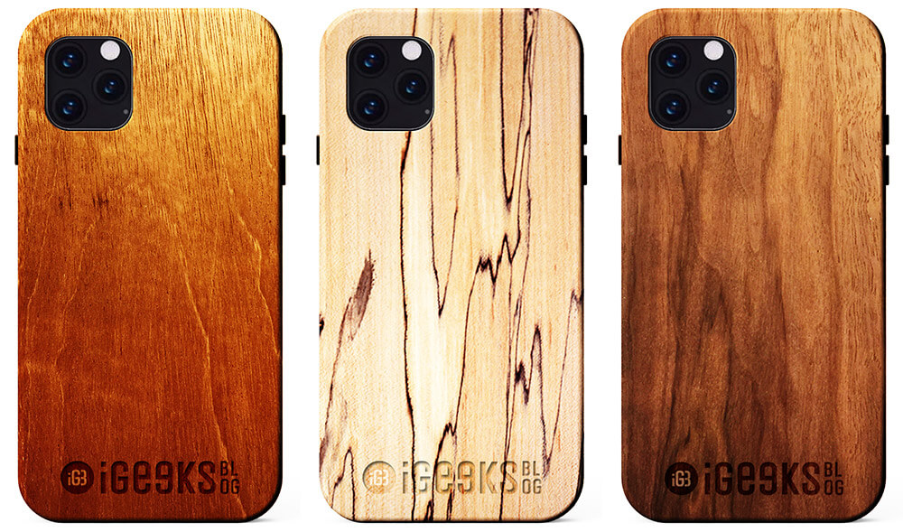 Logo Engraved Wooden Cases from KERF