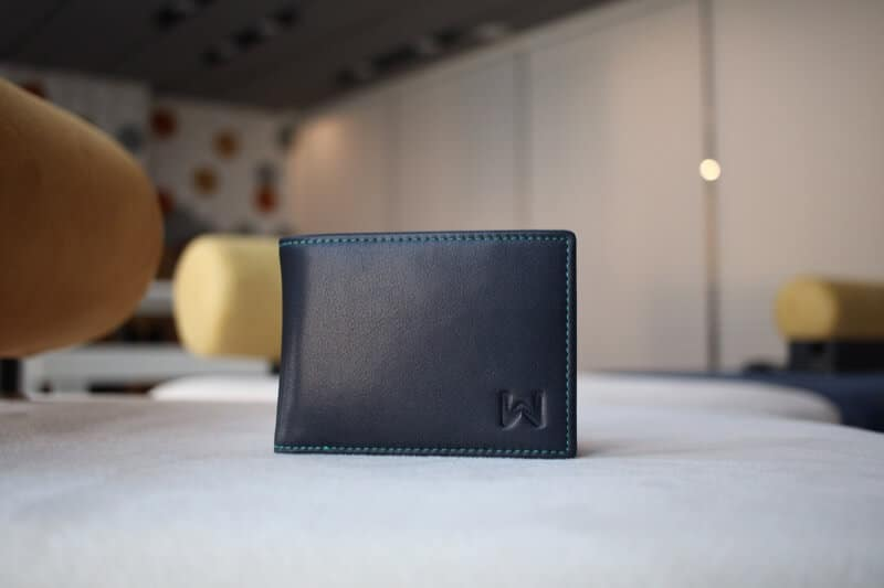 Logo on Bottom Right of The Walli Smart Wallet