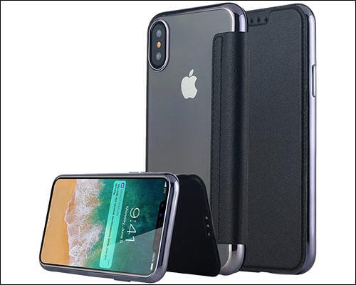 Lontect iPhone X Flip Case