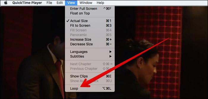 Loop Videos in QuickTime Player on Mac