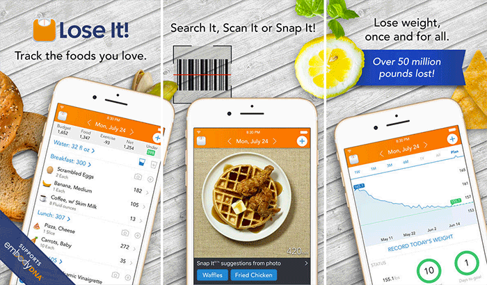 Lose It! Weight Tracking iPhone and iPad App Screenshot