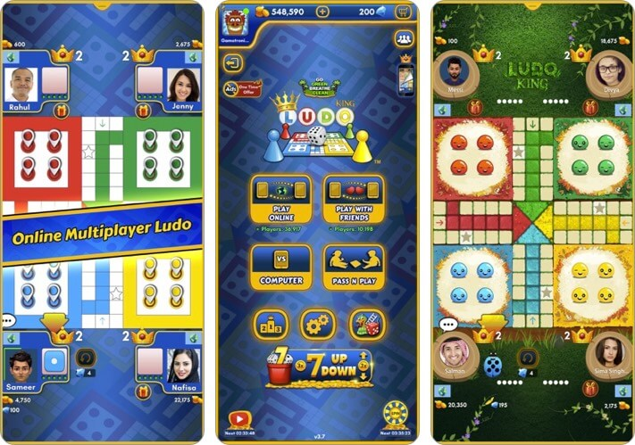 Ludo King iOS Game to Play with Friends