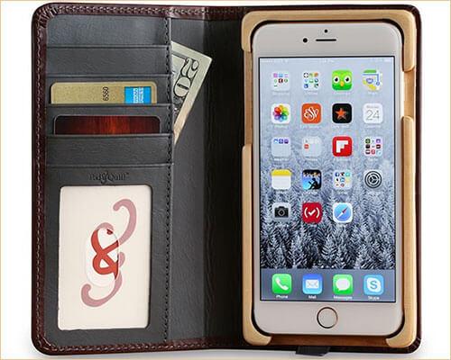 Luxury Book iPhone 7 Plus Folio Case