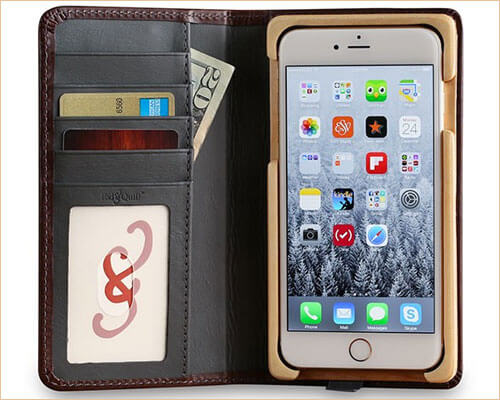 Luxury Book iPhone 7 Plus Wooden Case