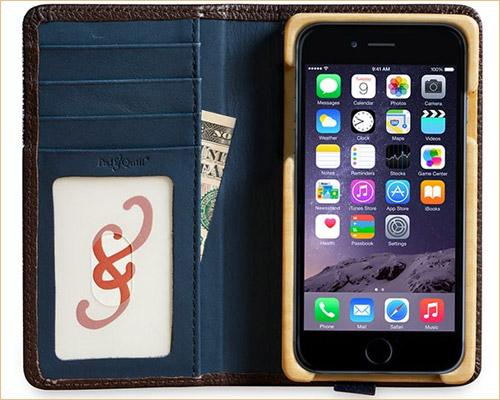 Luxury Pocket Book iPhone 7 Wallet Case