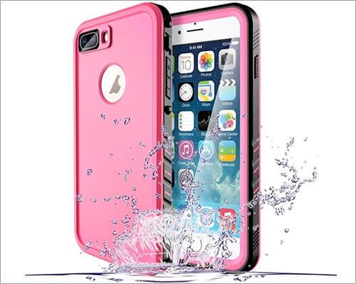 Lycase iPhone 7 Plus Waterproof Case