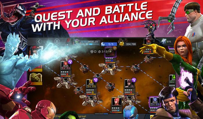 MARVEL Contest of Champions iPad Pro Game Screenshot