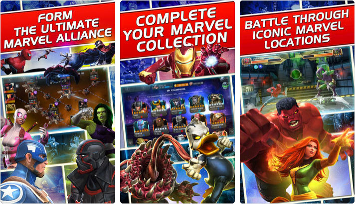 MARVEL Contest of Champions iPhone and iPad Game Screenshot