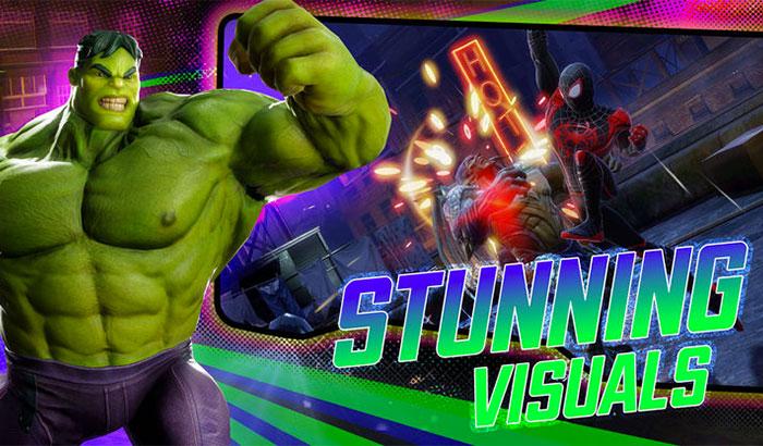 MARVEL Strike Force iPhone and iPad Game Screenshot