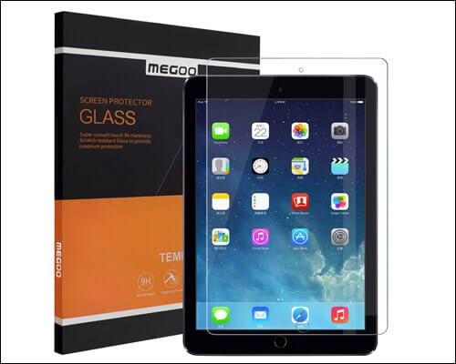 MEGOO 12.9 inch iPad Pro Tempered Glass Screen Protector