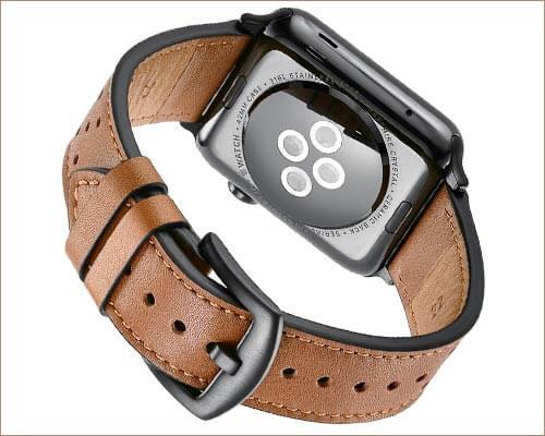 MIFA Apple Watch 3 Leather Band
