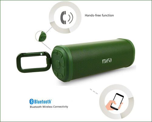 MIFA Bluetooth Speaker for iPhone SE, iPhone 6s, and 6s Plus