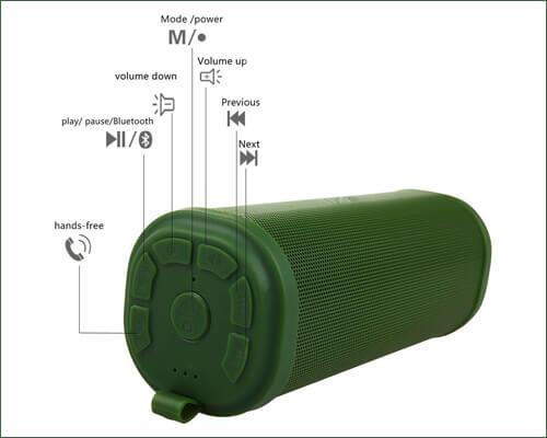 MIFA F5 Bluetooth Speaker for iPhone