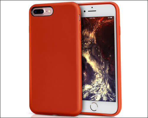 MILPROX iPhone 8 Plus Red Case