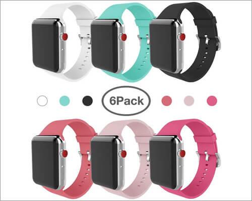 MITERV Apple Watch Series 3 Silicon Band