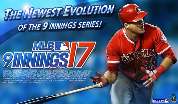 MLB 9 Innings 17 iPhone and iPad App Screenshot