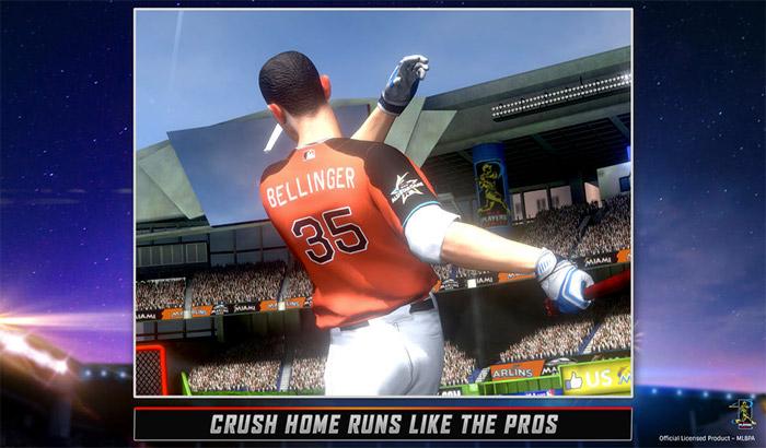 MLB Home Run Derby 17 iPhone and iPad App Screenshot