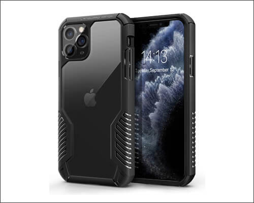 MOBOSI Rugged Military Grade Case for iPhone 11 Pro