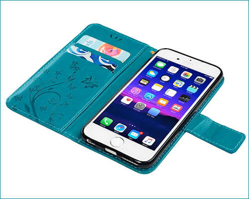 MOLLYCOOCLE iPhone 6-6s Wallet Case