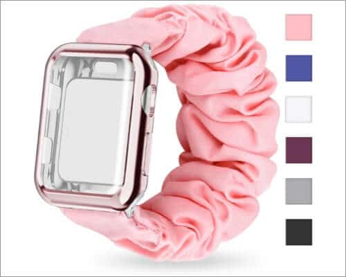 MORETEK Scrunchie Watch Band for Apple Watch