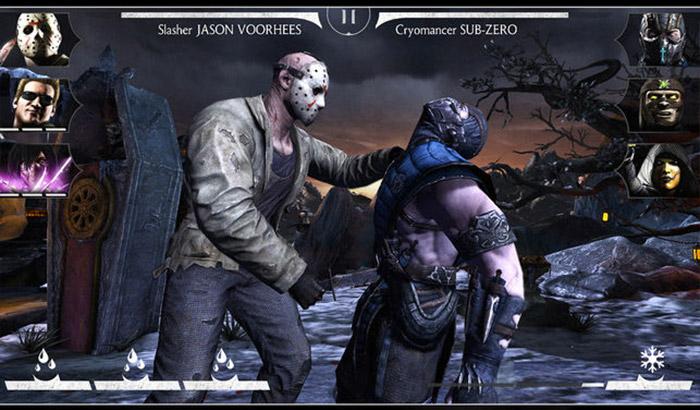 MORTAL KOMBAT X iPad Pro Game Screenshot