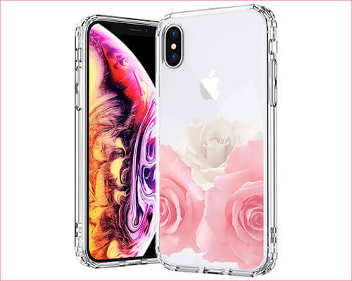 MOSNOVO iPhone X Case for Women