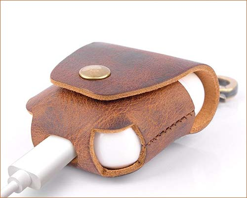 MRPLUM AirPods Leather Case