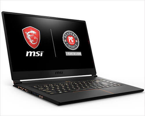 MSI GS65 Stealth THIN-051 Ultra Thin Gaming Laptop